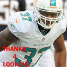 D.J. CAMPBELL 2013 MIAMI DOLPHINS FOOTBALL CARD