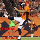 SPENCER LANNING 2015 DENVER BRONCOS FOOTBALL CARD