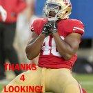 STEVE BEAUHARNAIS 2015 SAN FRANCISCO 49ERS FOOTBALL CARD