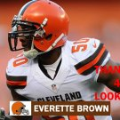 EVERETTE BROWN 2015 CLEVELAND BROWNS FOOTBALL CARD