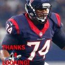 CHRIS CLARK 2015 HOUSTON TEXANS FOOTBALL CARD
