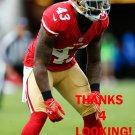 CHRIS DAVIS 2015 SAN FRANCISCO 49ERS FOOTBALL CARD