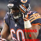 CORNELIUS EDISON 2015 CHICAGO BEARS FOOTBALL CARD
