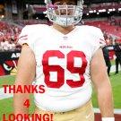 NICK EASTON 2015 SAN FRANCISCO 49ERS FOOTBALL CARD
