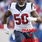 AKEEM DENT 2015 HOUSTON TEXANS FOOTBALL CARD