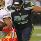 HEBRON FANGUPO 2012 SEATTLE SEAHAWKS FOOTBALL CARD