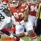 HEBRON FANGUPO 2015 KANSAS CITY CHIEFS FOOTBALL CARD