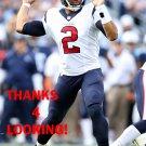 B.J. DANIELS 2015 HOUSTON TEXANS FOOTBALL CARD