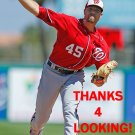 BLAKE TREINEN 2016 WASHINGTON NATIONALS BASEBALL CARD