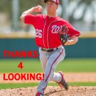 TREVOR GOTT 2016 WASHINGTON NATIONALS BASEBALL CARD