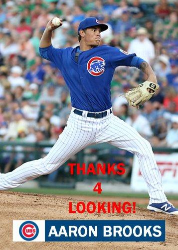 Aaron Brooks 2016 Chicago Cubs Baseball Card