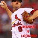 MIKE LEAKE 2016 ST. LOUIS CARDINALS BASEBALL CARD
