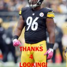 CLIFTON GEATHERS 2015 PITTSBURGH STEELERS FOOTBALL CARD