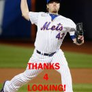 ADDISON REED 2016 NEW YORK METS BASEBALL CARD