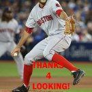 NOE RAMIREZ 2016 BOSTON RED SOX BASEBALL CARD