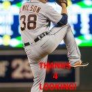JUSTIN WILSON 2016 DETROIT TIGERS BASEBALL CARD