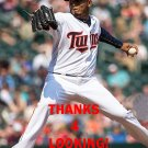 FERNANDO ABAD 2016 MINNESOTA TWINS BASEBALL CARD
