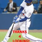JIMMY PAREDES 2016 TORONTO BLUE JAYS BASEBALL CARD