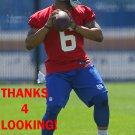 B.J. DANIELS 2016 NEW YORK GIANTS FOOTBALL CARD