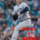 CHASE ANDERSON 2016 MILWAUKEE BREWERS BASEBALL CARD