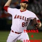 A.J. ACHTER 2016 LOS ANGELES ANGELS  BASEBALL CARD