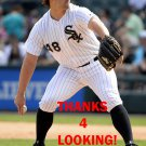 TOMMY KAHNLE 2016 CHICAGO WHITE SOX BASEBALL CARD