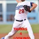BUD NORRIS 2016 LOS ANGELES DODGERS  BASEBALL CARD