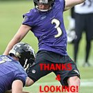 WIL LUTZ 2016 BALTIMORE RAVENS FOOTBALL CARD