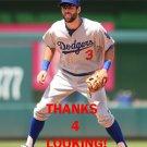 CHRIS TAYLOR 2016 LOS ANGELES DODGERS  BASEBALL CARD