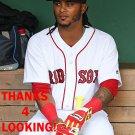 MICHAEL MARTINEZ 2016 BOSTON RED SOX BASEBALL CARD