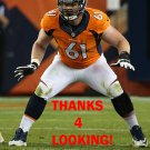 MATT PARADIS 2014 DENVER BRONCOS FOOTBALL CARD
