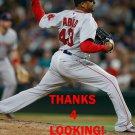 FERNANDO ABAD 2016 BOSTON RED SOX BASEBALL CARD