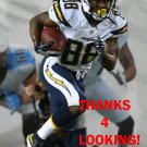 DeANDRE REAVES 2016 SAN DIEGO CHARGERS FOOTBALL CARD