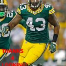 BENIQUEZ BROWN 2016 GREEN BAY PACKERS FOOTBALL CARD
