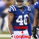 FRANKIE WILLIAMS 2016 INDIANAPOLIS COLTS FOOTBALL CARD