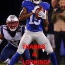 TAVARRES KING 2016 NEW YORK GIANTS FOOTBALL CARD