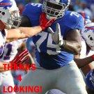BYRON STINGILY 2016 NEW YORK GIANTS FOOTBALL CARD