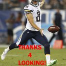 DREW KASER 2016 SAN DIEGO CHARGERS FOOTBALL CARD