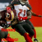 CHANNING WARD 2016 TAMPA BAY BUCCANEERS FOOTBALL CARD