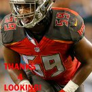 DEVANTE BOND 2016 TAMPA BAY BUCCANEERS FOOTBALL CARD