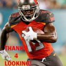 BERNARD REEDY 2016 TAMPA BAY BUCCANEERS FOOTBALL CARD