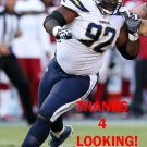 BRANDON MEBANE 2016 SAN DIEGO CHARGERS FOOTBALL CARD