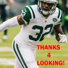 JUSTON BURRIS 2016 NEW YORK JETS FOOTBALL CARD