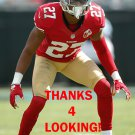 KEITH REASER 2016 SAN FRANCISCO 49ERS FOOTBALL CARD