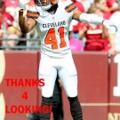 TRACY HOWARD 2016 CLEVELAND BROWNS FOOTBALL CARD
