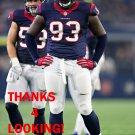 JOEL HEATH 2016 HOUSTON TEXANS FOOTBALL CARD