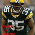 JERMAINE WHITEHEAD 2016 GREEN BAY PACKERS FOOTBALL CARD