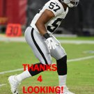 CORY JAMES 2016 OAKLAND RAIDERS FOOTBALL CARD