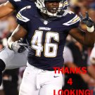 CHRIS LANDRUM 2016 SAN DIEGO CHARGERS FOOTBALL CARD