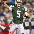 CHRISTIAN HACKENBERG 2016 NEW YORK JETS FOOTBALL CARD